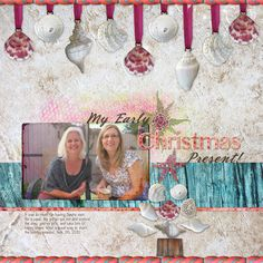 My Early Christmas Present Digital Scrapbooking Layout by Jan Hicks #digiscrap