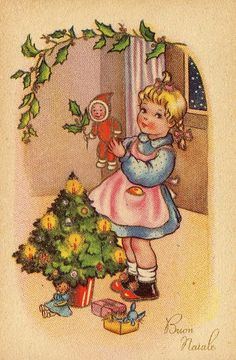 Miss Jane - Christmas Cards 1954