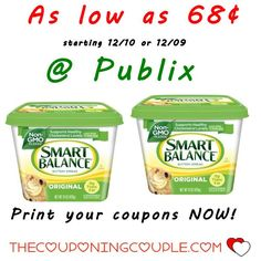 Cheap Smart Balance @ Publix starting 12/10 or 12/9 for some. Be sure to print your coupons now so you have them ready when this deal starts next week. ****  Click the link below to get all of the details ► http://www.thecouponingcouple.com/cheap-smart-balance-publix-starting-1210-or-129/ #Coupons #Couponing #CouponCommunity  Visit us at http://www.thecouponingcouple.com for more great posts!