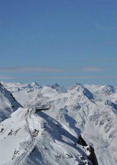 Stubai Glacier, Tyrol, Austria