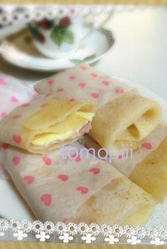 朝パンもご飯もないっ‼ってなってどうしようかと思ったところ思い出してまた作りました٩꒰。•◡•。꒱۶ - 98件のもぐもぐ - klalaさんのお手軽簡単っ!ブリトー☆ by tomopiii