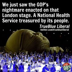 GOP nightmare celebrated on the London Olympics stage - you'd better believe it baby!