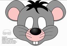 Como hacer una mascara de fomi de raton - Imagui