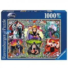 Disney női gonoszok, Ravensburger 1000 darabos