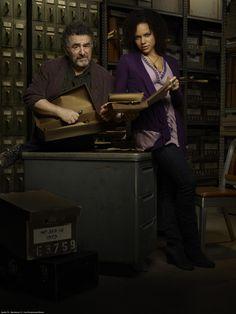 #Warehouse13-Artie & Lena