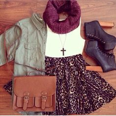 Typical autumn outfit.