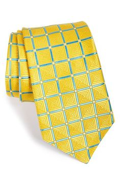 Ted Baker London 'Parquet' Geometric Silk Tie | Nordstrom