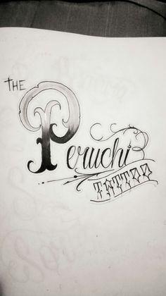 Estudo de caligrafia