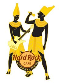 Hard Rock Cafe Japan - Uyeno Egypt Series1
