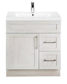 Cutler Kitchen Bath Fogo Harbour 30 Inch W 2 Drawer 1 Door