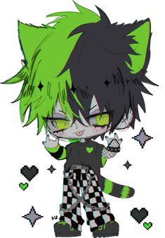 Cute Anime Character, Character Art, Character Design, Anime Wolf Girl, Hot Anime Boy, Dark Anime Guys, Cute Anime Guys, Emo Art, Gothic Anime