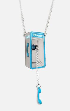 Payphone Necklace <3 SO cUte!