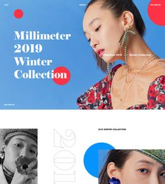 Event Landing Page, Event Page, Editorial Layout, Editorial Design, Web Layout, Layout Design, Web Design, Fashion Banner, Photo Work