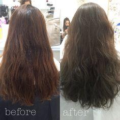 #加工なし #before#after #Highlight#highlights #highlighter  #hair#hairs#hairstyle #hairstylist #hairstyles #hairsalon  #salon#salonedelmobile #salonedelmobile2016  #salons #ルベル#ロコル #Ash#gray#graysondolan by funkyjrsaki