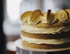 Peach-cream torte by @JulitasCakes  #photography by @c_gmedia  #baking #torte #cake #instacake #peach #cakephotography #food #foodphotography #charity #cakesale #kitchen #fresh #foodwithlove #foodie #instagood #amazingday