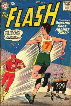 The Flash #107 - Return of the Super-Gorilla! / The Amazing Race Against Time!