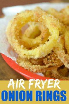 Air Fryer Onion Rings #GlutenFree #AirFryer