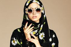 Why Western Designers Are Embracing the Hijab // Dolce & Gabbana's new collection for Muslim women combines inclusiveness with good business.
