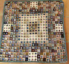 Colors are fabulous--pretty sure she dyes her own and bases them on places. revenir sur terre - volver a la tierra - Crochet Afghans, Crochet Quilt, Crochet Blocks, Crochet Squares, Crochet Home, Crochet Granny, Crochet Motif, Crochet Stitches, Crochet Patterns