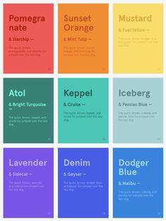 AWWWARDS rebrand colour palette