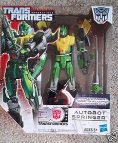 Transformers Generations Thrilling 30 2014 Autobot Springer Triple Changer NEW