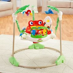 Fisher-Price® Rainforest™   Jumperoo™ | K6070 | Fisher Price