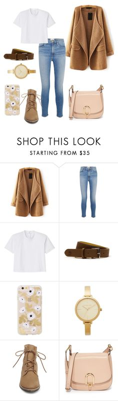 """""""Green Tea"""" by lkaraleigh ❤ liked on Polyvore featuring WithChic, Frame, TIBI, Lacoste, Michael Kors, Steve Madden and MICHAEL Michael Kors"""