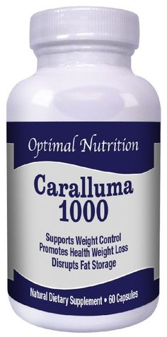Pure Caralluma Fimbriata High Potency 1000mg Caralluma Per Serving Natural Weight Loss Diet Supplement and Appetite Suppressant Made in USA Highest Quality for Maximum Weight Loss