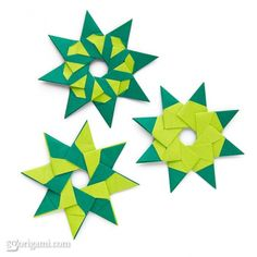 8-Pointed Modular Origami Stars | GoOrigami