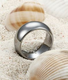 Domed Style Tungsten Carbide Ring