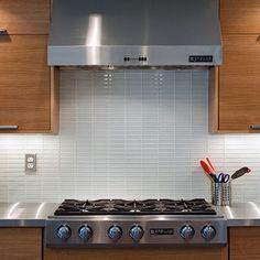 Subway tile Lush 1x4 glass tile, perfect for kitchen backsplash, bathroom tile and fireplace tile
