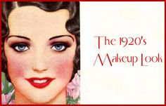 Makeup from the 20's.
