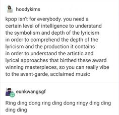 Ring Ding Dong is that OG song that I love yet also makes me laugh. 3353373c9e599