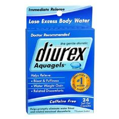 I'm learning all about Diurex Aquagels at @Influenster!