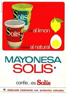 Yo fuí a EGB .Recuerdos de los años 60 y 70.La publicidad en los años 60 y 70.Tercera parte,productos de alimentación | Yo fuí a EGB. Recuerdos de los años 60 y 70.