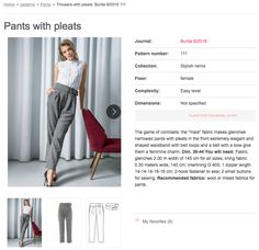 Sew Your Kibbe: Soft Gamine – Doctor T Designs Gamine Style, Soft Gamine, Soft Autumn, Pants Pattern, Contrast, Trousers, Female, Sewing, Stylish