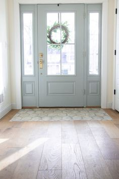 If you are looking for Modern Farmhouse Flooring Woods Design Ideas, You come to the right place. Below are the Modern Farmhouse Flooring . Home Renovation, Home Remodeling, Entryway Flooring, Farmhouse Flooring, Entry Way Tile, Entryway Tile Floor, Living Room Flooring, Entry Foyer, Entry Doors