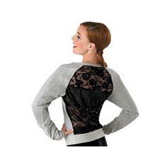 Lace Back Dance Sweatshirt; Urban Groove