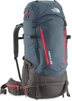 The North Face Terra 65 Pack. The pack I must have! Rucksack Backpack, Hiking Backpack, Hiking Bag, Trekking, Outdoor Backpacks, Adventure Gear, Snow Skiing, Camping Accessories, Camping With Kids