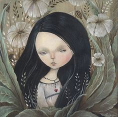 Beautiful touching paintings of Dilka Bear - ego-alterego.com