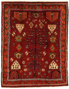 Lori - Gabbeh Persian Carpet 182x141