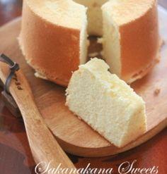 もちもち食感がたまらない!豆腐で作る「シフォンケーキ」 | くらしのアンテナ | レシピブログ Sweets Recipes, Cake Recipes, Cooking Recipes, Homemade Sweets, Bread Cake, Healthy Sweets, How To Make Cake, Love Food, Sweet Treats