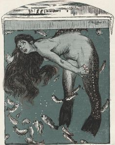 Mermaid  Illustrations from Jugend (1896 to 1940)