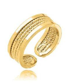 anel de falange dourado semi joia fina