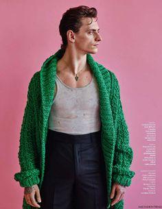 Sergei Polunin para Vogue Hommes Spring/Summer 2016 por Mario Sorrenti