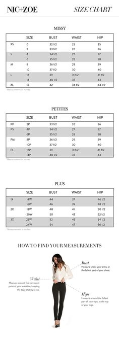 Alfani Woman Regular and Plus Size Charts via Macys ...