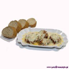 Überbackene Champignons -  Überbackene Champignons - eignen sich als Vorspeise oder Hauptgericht