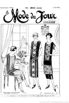 La Mode du jour. 1925/04/09