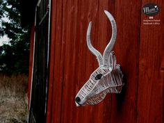 Mum's Gazelle size M. MUM's ZOO is designed by MUM's in Finland. Finland, Giraffe, Africa, Handmade, Animals, Design, Decor, Felt Giraffe, Hand Made