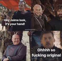 Poor Jaime, Game of Thrones.